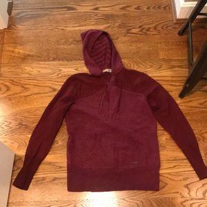 Smart wool sweatshirt